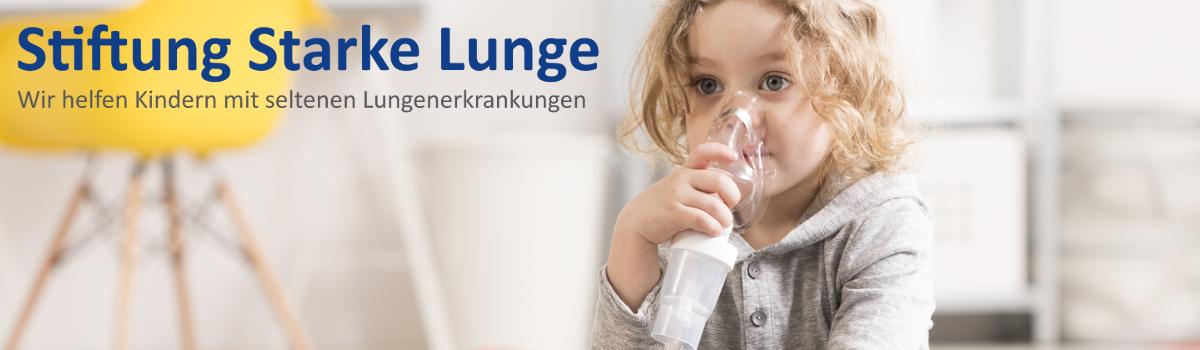Wir helfen Kindern mit seltenen Lungenerkrankungen