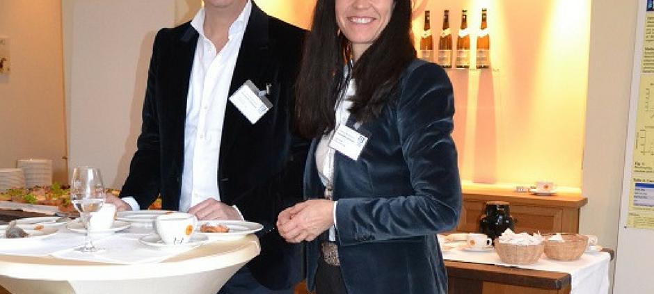 Frank Fischer und Julia Fischer nach dem gelungenen Workshop